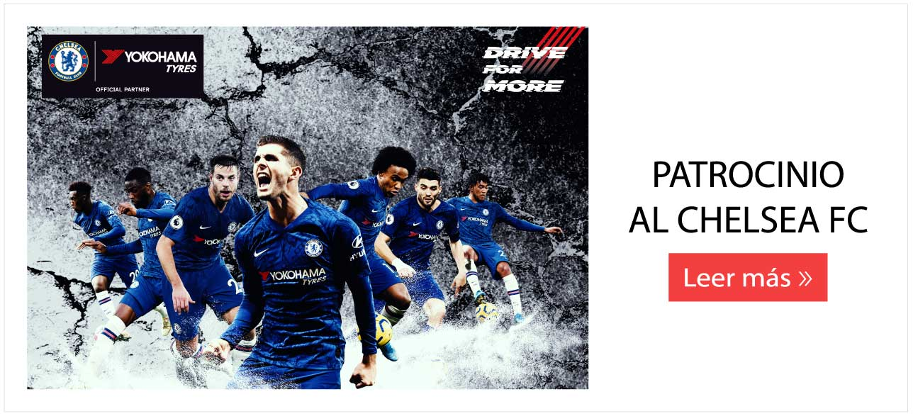 Llantas Yokohama sponsor Chelsea