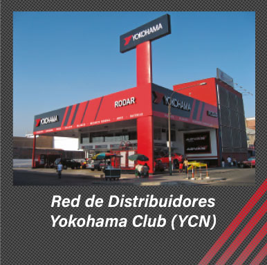 red de distribuidores yokohama
