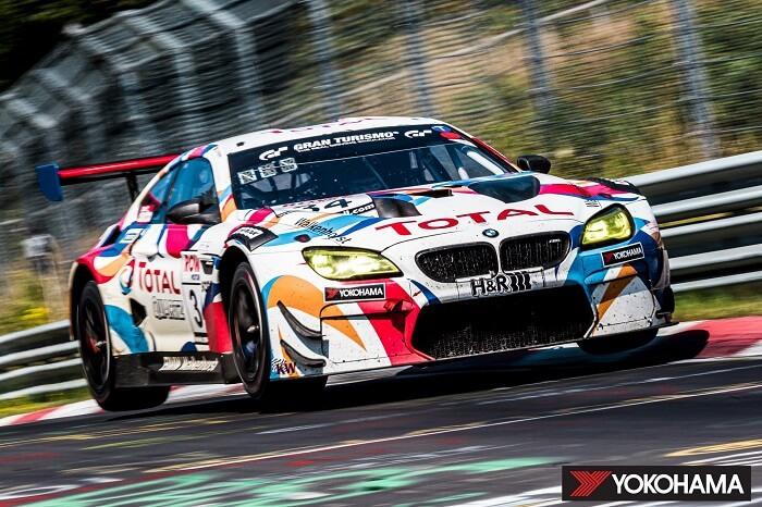 Team llantas yokohama en Nürburgring